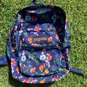 🌺 Flower Power JANSPORT BackPack